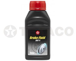 Жидкость тормозная TEXACO DOT-4 (250мл)