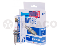 Свеча зажигания FINWHALE FSI-102 (90919-01253/01275/SC20HR-11/IXEH20TT/ILKAR7B-11/4912)