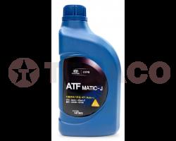 Жидкость для АКПП HYUNDAY/KIA ATF MATIC-J RED-1 5-ти ступенчатых (1л)-п/синтетика
