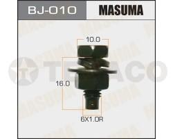 Болт с гайкой MASUMA M6х16x1.0 (6шт)