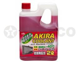 Антифриз AKIRA COOLANT -40 красный (2л)