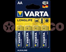 Батарейка VARTA LONGLIFE LR6 AA