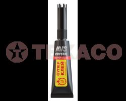 Супер клей AVS быстродействующий (3г) AVK-170