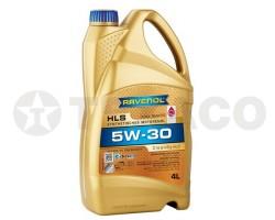 Масло моторное RAVENOL HLS 5W-30 SN/CF/C3 GF-5 (4л)