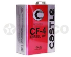 Масло моторное CASTLE 10W-30 CF-4 (4л)