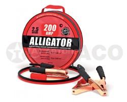 Провода стартовые 200А ALLIGATOR 2,5м ( в сумке)