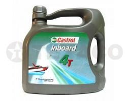 Масло для 4-х тактных двигателей Castrol Inboard 4T 15W-40 (4л)-минералка CF-4/SG