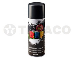 Краска спрей акриловая REF термостойкая черная 600 C (520мл)
