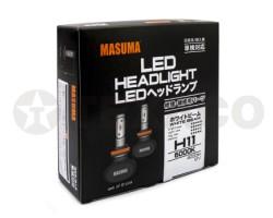 Автолампа светодиодная MASUMA H11 6000K 4000Lm 12V-55W (2шт)
