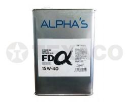 Масло моторное ALPHA'S FD MINERAL DIESEL 15W-40 CF-4 (4л)