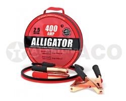 Провода стартовые 400А ALLIGATOR 2,5м ( в сумке)