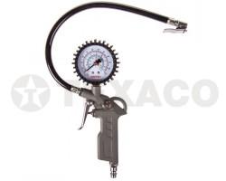 Пистолет для накачивания шин SKYWAY с манометром S07701004