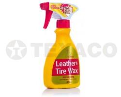 Полироль кожи, резины, пластика Kolibriya Tire Wax & Leather (250мл)