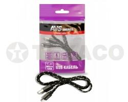 Кабель AVS micro USB (1м) MR-321