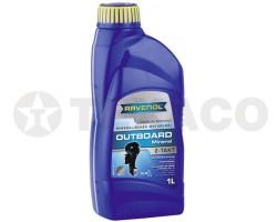 Масло моторное RAVENOL OUTBOARD 10W-40 4-TAKT (4л) полусинтетическое