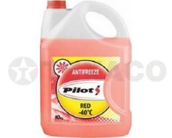 Антифриз PILOTS G12 -40 красный (10кг)