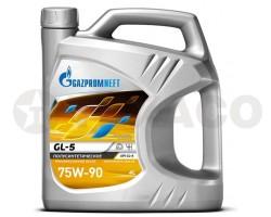 Масло трансмиссионное Gazpromneft 75W-90 GL-5 (4л)