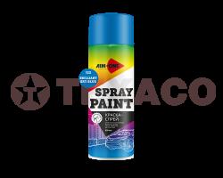 Краска-спрей AIM-ONE бриллиантово-голубая (450мл)