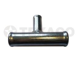 Трубка тройник 10 х 8 х 10 мм 90 градусов