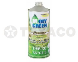 Масло моторное MOLY GREEN EARTH 0W-20 SN/GF-5 (1л)