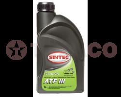 Жидкость для АКПП Sintoil ATF DIII (1л)