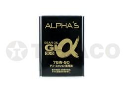 Масло трансмиссионное ALPHA'S GL-5 75W-90 (4л)