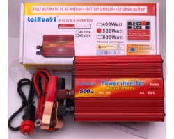 Преобразователь напряжения LaiRunH 12-220V 500Вт