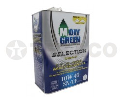 Масло моторное MOLY GREEN SELECTION 10W-40 SN/CF (4л)