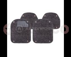 Вкладыши AUTOPROFI ковролиновые для ковриков TER-500i 4предмета PET-500i BK/GY/BE
