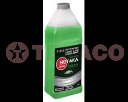 Антифриз Hotaka Green Long Life Coolant -45C, (1кг)