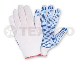 Перчатки х/б ПВХ-покрытие