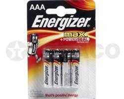 Батарейка ENERGIZER MAX AAA LR03