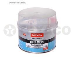 Шпатлевка NOVOL FIBER MICRO со стекловолокном (0,5кг)