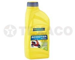 Масло моторное RAVENOL SCOOTER 2-TAKT SL (1л)