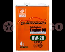 Масло моторное AUTOBACS ENGINE OIL FS 0W-20 SP/GF-6A (4л)