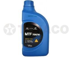 Масло трансмиссионное HYUNDAY/KIA MTF 75W-90 GL-4 (1л)- синтетика
