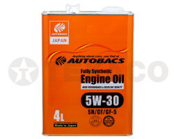 Масло моторное AUTOBACS ENGINE OIL FS 5W-30 SP/CF/GF-6A (4л)