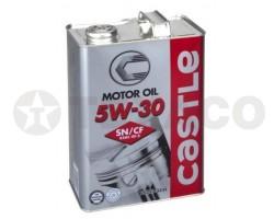 Масло моторное CASTLE5W-30 SN (4л)