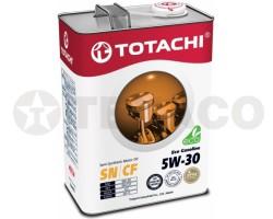 Масло моторное TOTACHI Eco Gasoline 5W-30 SN/CF (4л) полусинтетика