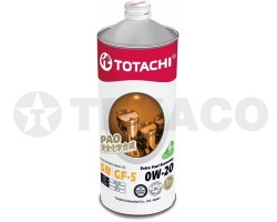 Масло моторное TOTACHI Extra Fuel 0W-20 SN (1л) синтетика