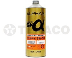 Масло моторное ALPHA'S SN SEMI-SINTHETIC 5W-30 SP/GF-6A (1л)