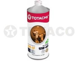 Масло моторное TOTACHI Eco Gasoline 10W-40 SN/CF (1л) полусинтетика