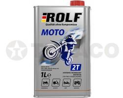 Масло моторное ROLF 2T MOTO (1л) полусинтетика