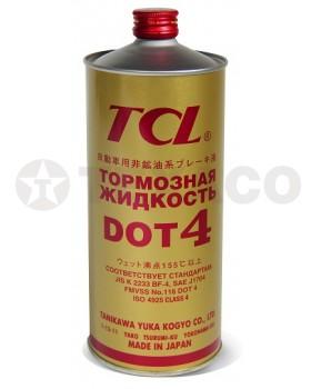 Жидкость тормозная TCL DOT4 (1л)