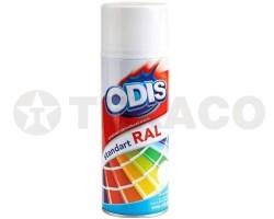 Краска-спрей ODIS белая глянцевая (450мл)