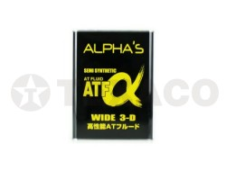 Жидкость для АКПП ALPHA'S ATF WIDE 3-D SEMI-SYNTHETIC (4л)
