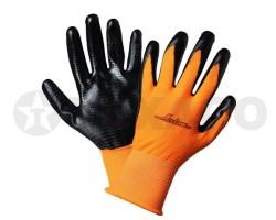 Перчатки AIRLINE с нитриловым покрытием AWG-L-03