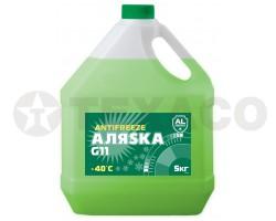 Антифриз АЛЯСКА -40 зеленый (5кг)