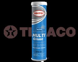 Смазка пластичная SINTEC MULTI GREASE EP3-100 (400г) синяя