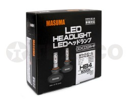 Автолампа светодиодная MASUMA HB4 6000K 4000Lm 12V-51W (2шт)